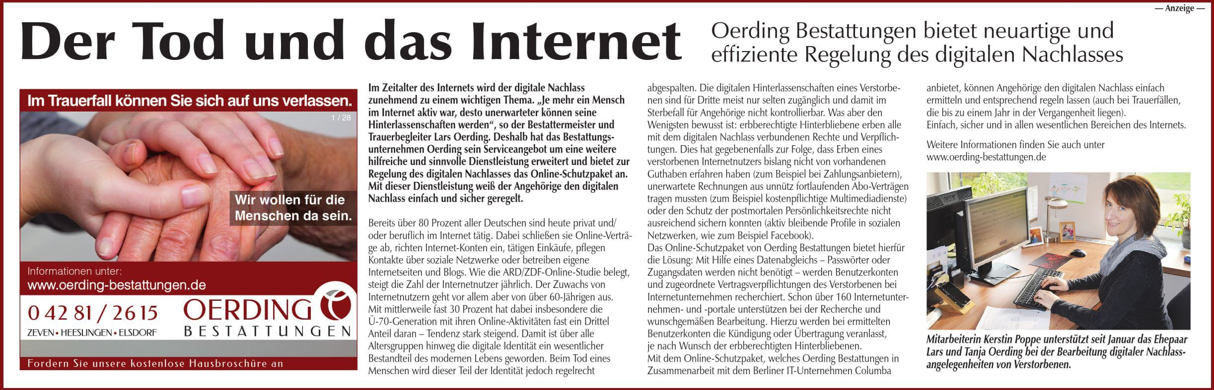 Der Tod und das Internet